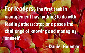 leaders-managing-self